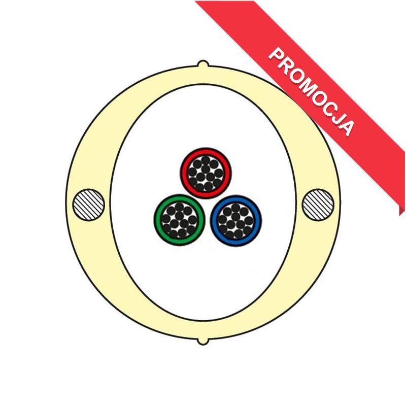Kabel Łatwego Dostępu KLD-TK 36J Acome PAD1826, HPC1626 [budowa modułowa: 3 tuby x 12 włókien] - 2 000 m opakowanie bęben