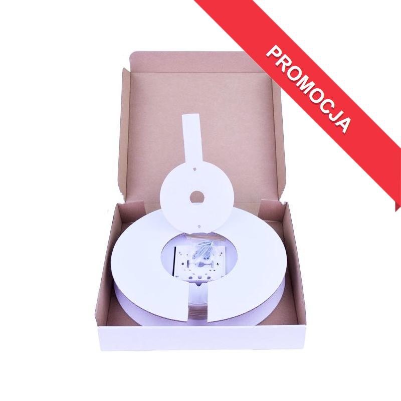 Światłowód Niewidoczny – Zestaw Instalacyjny 20 m (Gniazdko NGO-12, Adapter, Pigtail)