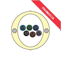 Kabel Łatwego Dostępu KLD-TK 72J Acome PAD1826, HPC1626 [budowa modułowa: 6 tub x 12 włókien] - 2 000 m opakowanie bęben