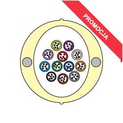 Kabel Łatwego Dostępu KLD-TK 72J Acome PAD1826, HPC1626 [budowa modułowa: 12 tub x 6 włókien] - 2 000 m opakowanie bęben