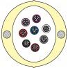 Kabel Łatwego Dostępu KLD-TK 96J Acome PAD1826, HPC1626 [budowa modułowa: 8 tub x 12 włókien] - 2 000 m opakowanie bęben