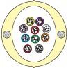 Kabel Łatwego Dostępu KLD-TK 80J Acome PAD1826, HPC1626 [budowa modułowa: 10 tub x 8 włókien] - 2 000 m opakowanie bęben