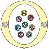 Kabel Łatwego Dostępu KLD-TK 64J Acome PAD1826, HPC1626 [budowa modułowa: 8 tub x 8 włókien] - 2 000 m opakowanie bęben