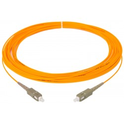 Patchcord SC MM PC 5 m MMG.651 62,5 (OM1) Stacyjny