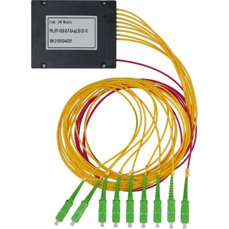 Splitter Optyczny PLC 1x8 SC APC SM (obudowa blackbox)